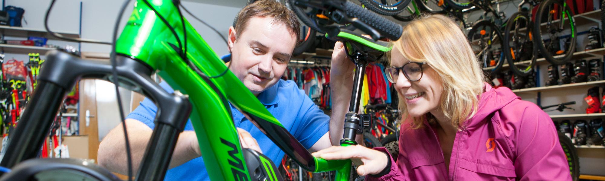 Fahrräder und E-Bikes ausleihen-