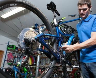 Fahrrad-Service im Frühjahr